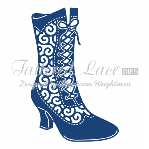 Tattered Lace Die Milly Boot - D790